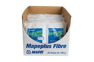 Fibres pour béton mapei mapeplus