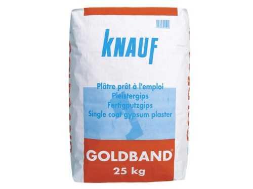 knauf goldband 25kg - plâtre prêt à l'emploi