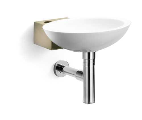 lave mains avec siphons et fixation