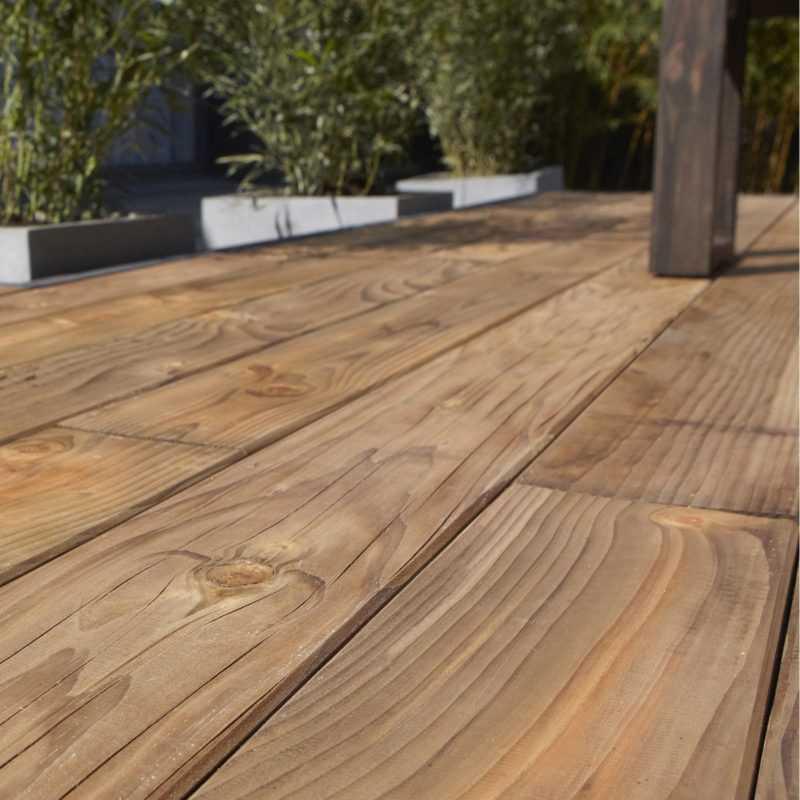terrasse bois indigène