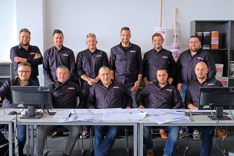 notre équipe Allmat Belgique